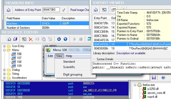 PE Explorer v1.99 Revision 6